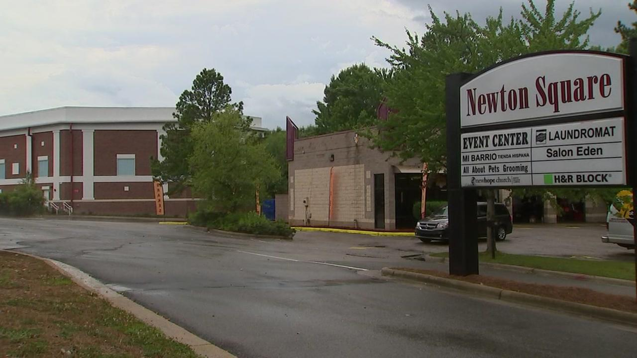 Newton Square reopens after sinkhole