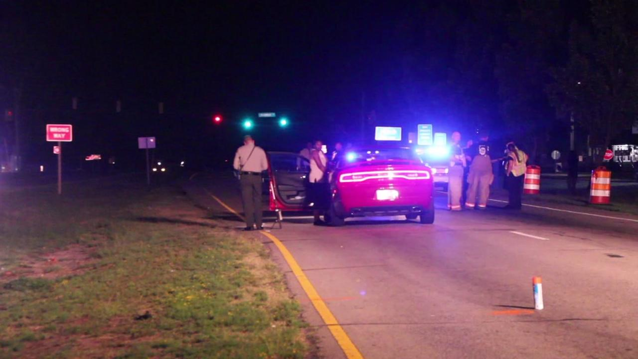 Woman hit during traffic stop in Cumberland County