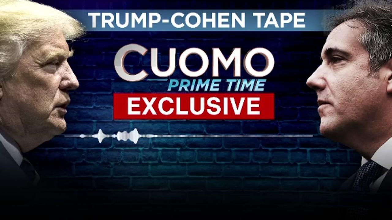 Secretly recordeed audio between Trump, Cohen