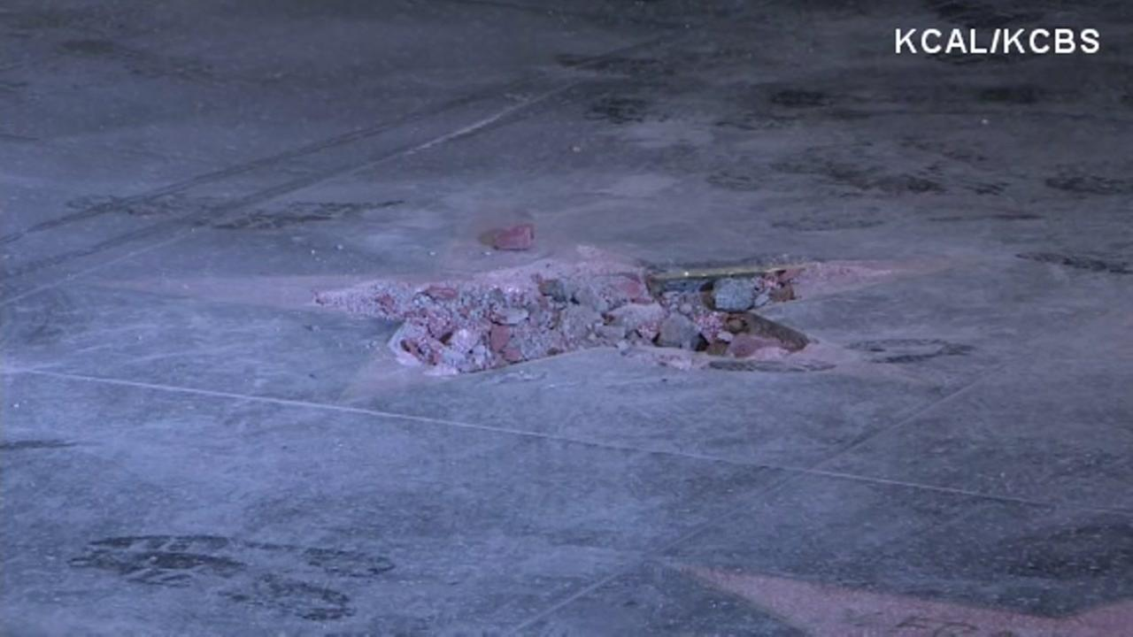 Trumps Walk of Fame star destroyed; suspect turns self in