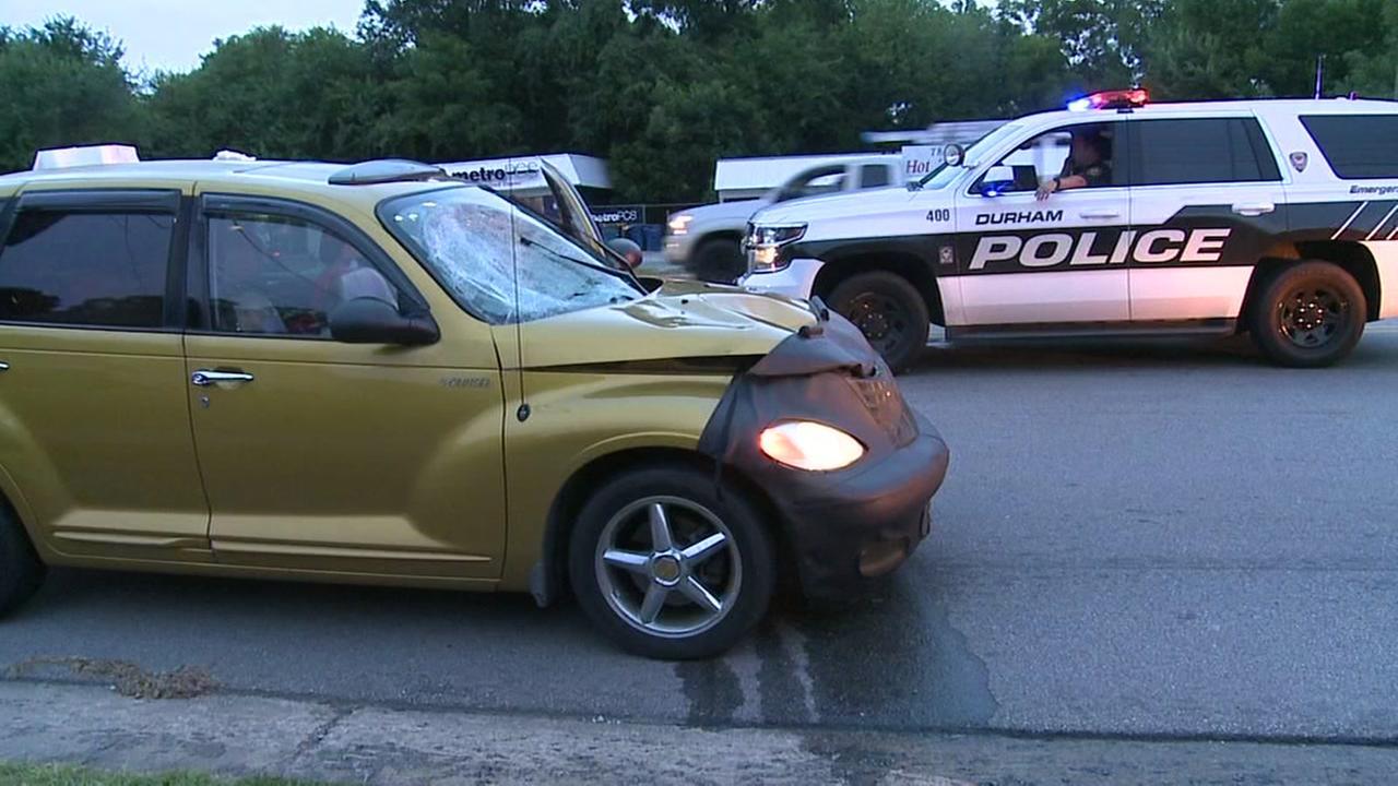 Man injured after being hit on Alston Avenue in Durham