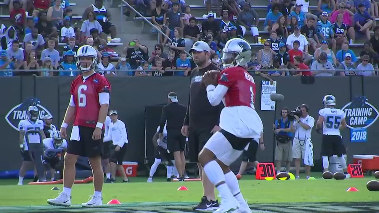 Training camp: Panthers in 60 seconds