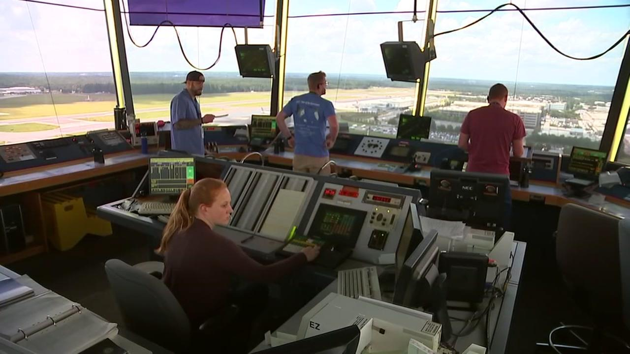 Off Limits Triangle: Air traffic control at RDU