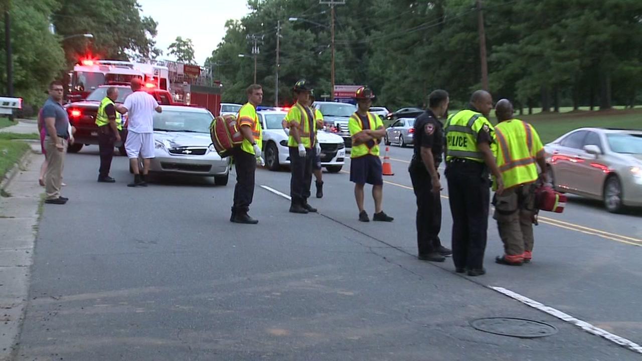 Durham pedestrian struck by car