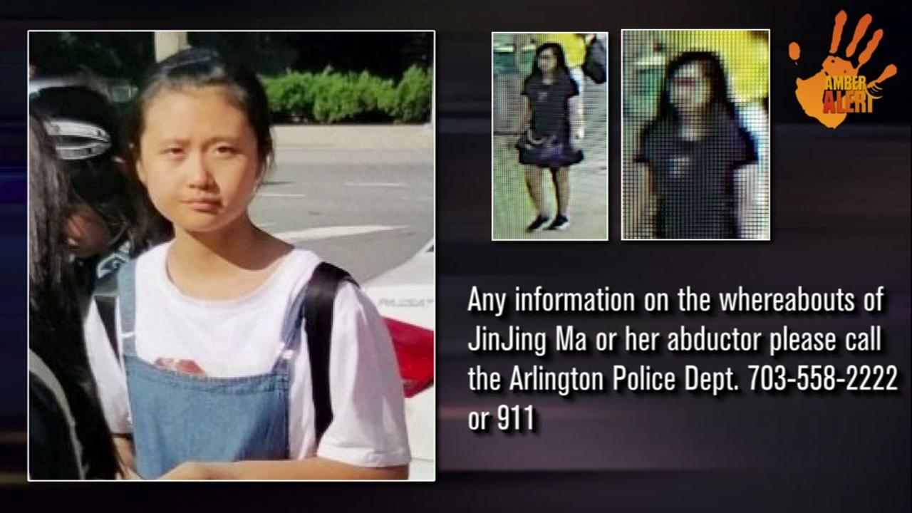 Virgina police looking for missing 12-year-old Jin Jing Ma