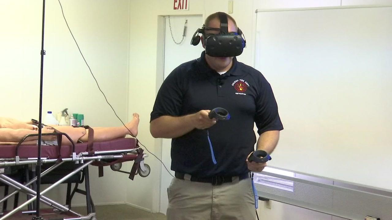 Raleigh FD turning to Virtual Reality in efforts to enhance training
