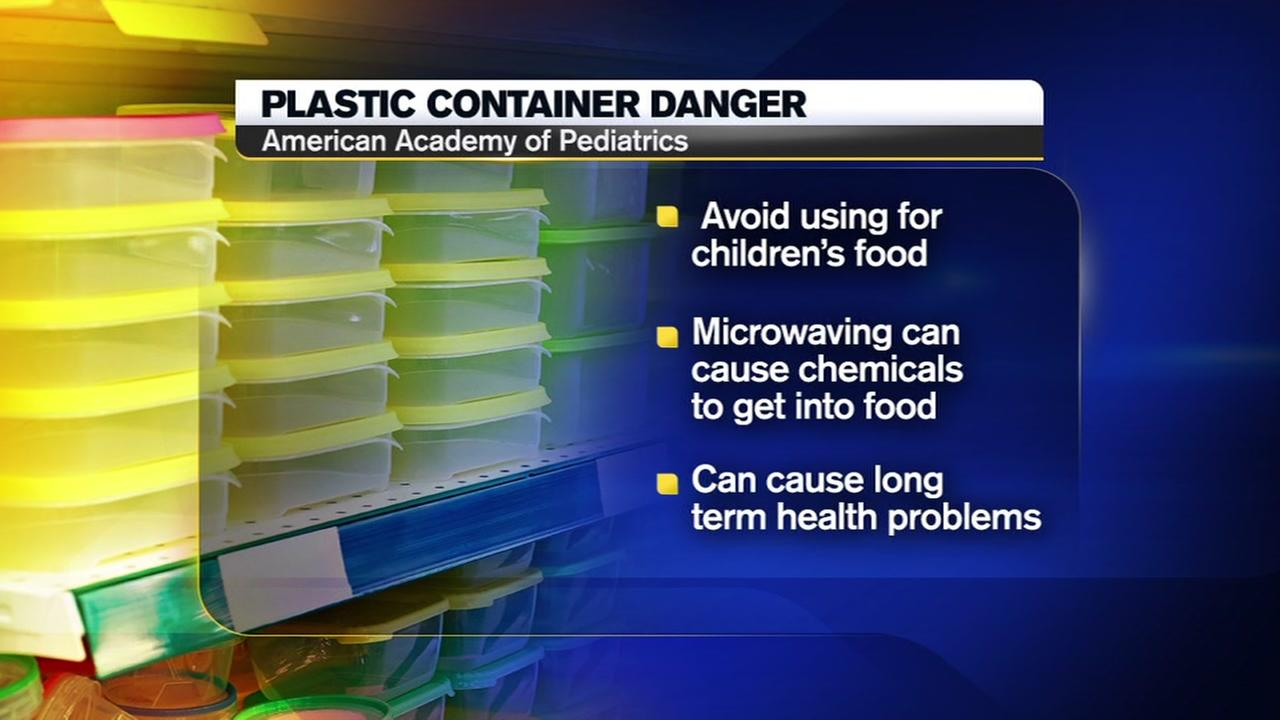Warning issued about plastic containers
