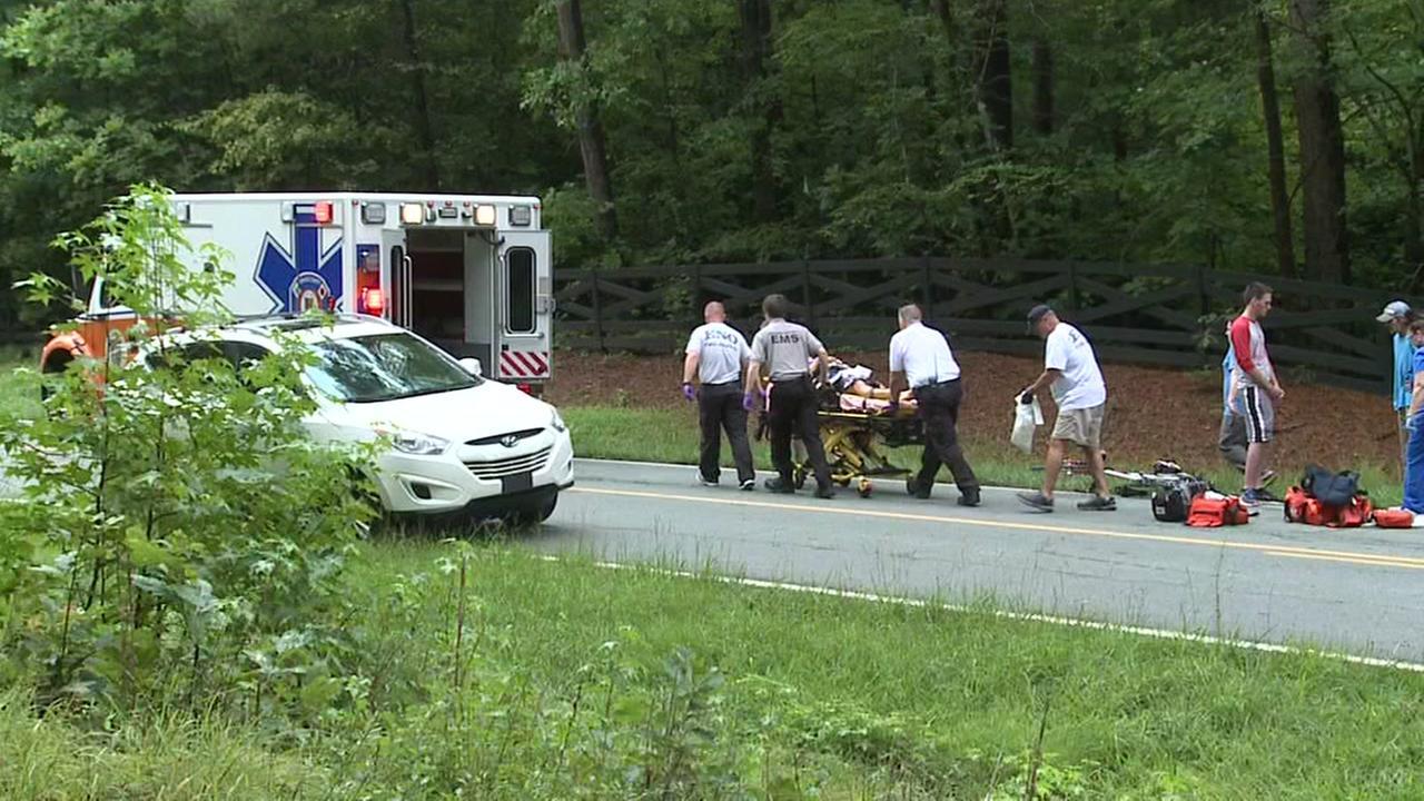 Cyclist injured after being struck by car in Durham