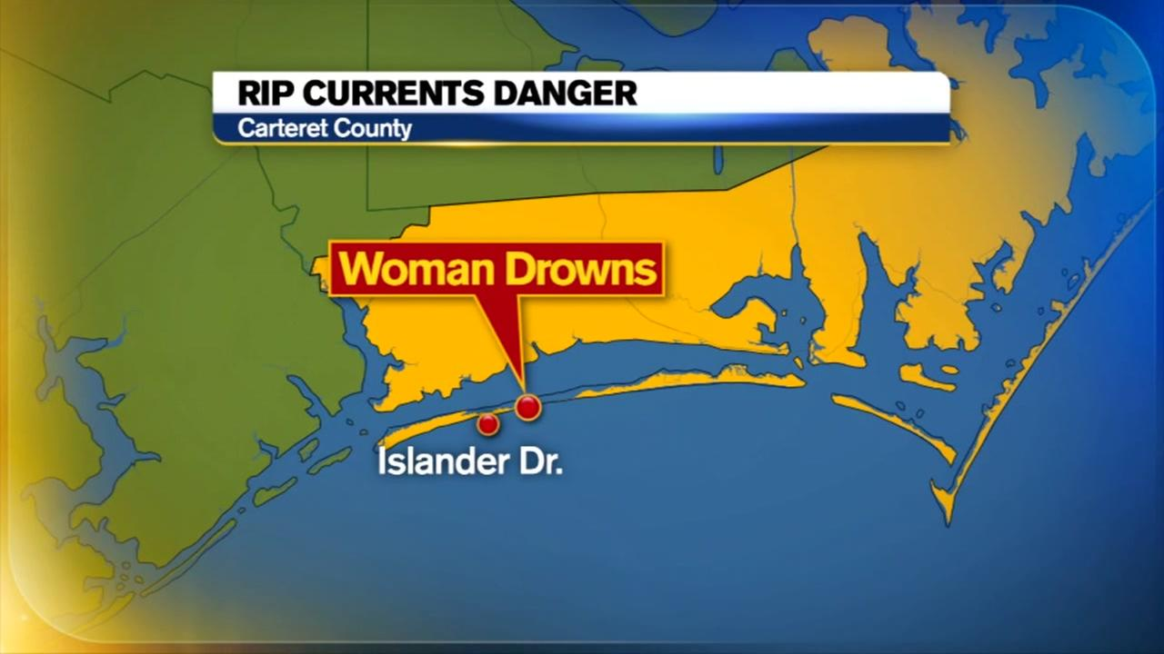 Kentucky woman drowns at Emerald Isle after getting caught in rip current
