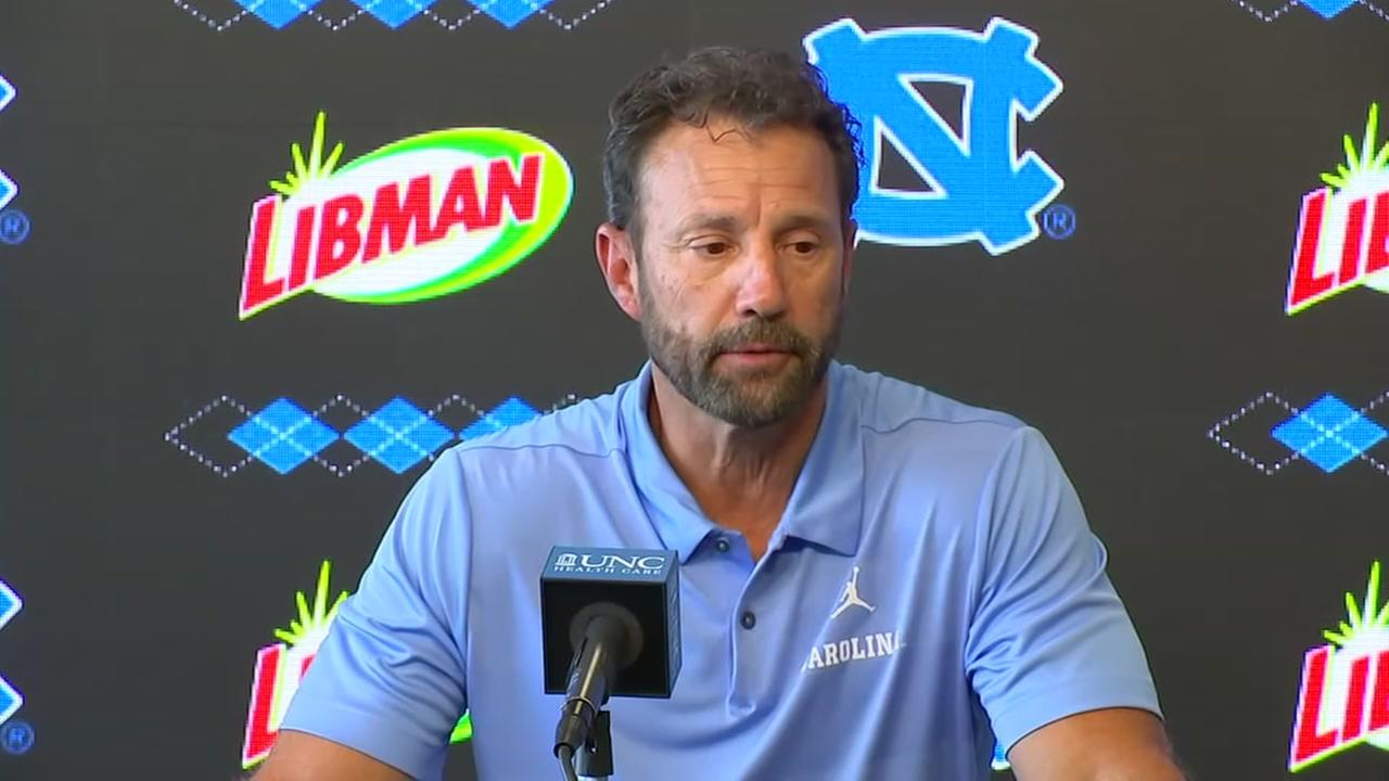 UNC Head Coach Larry Fedora and AD Bubba Cunninghams opening remarks