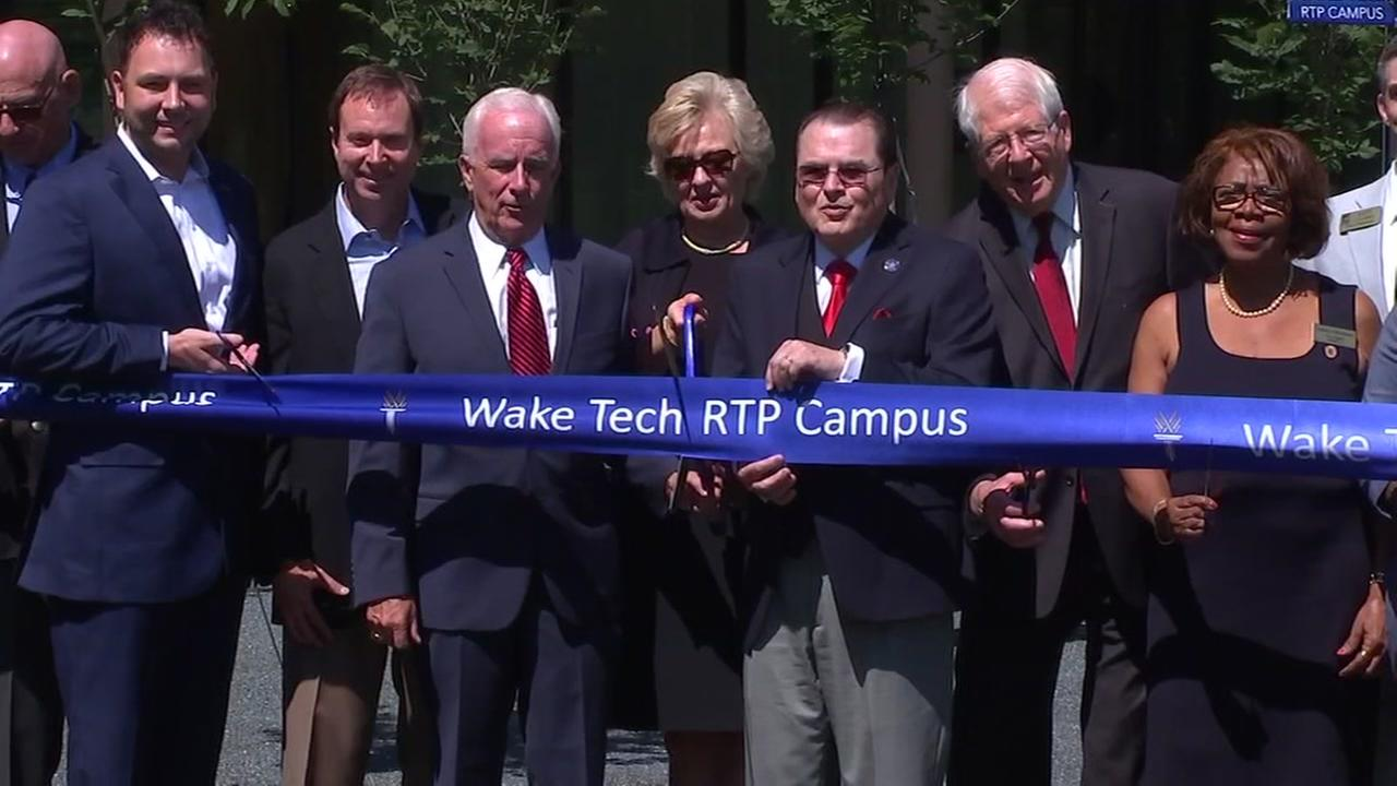 Wake Tech opens new campus in RTP