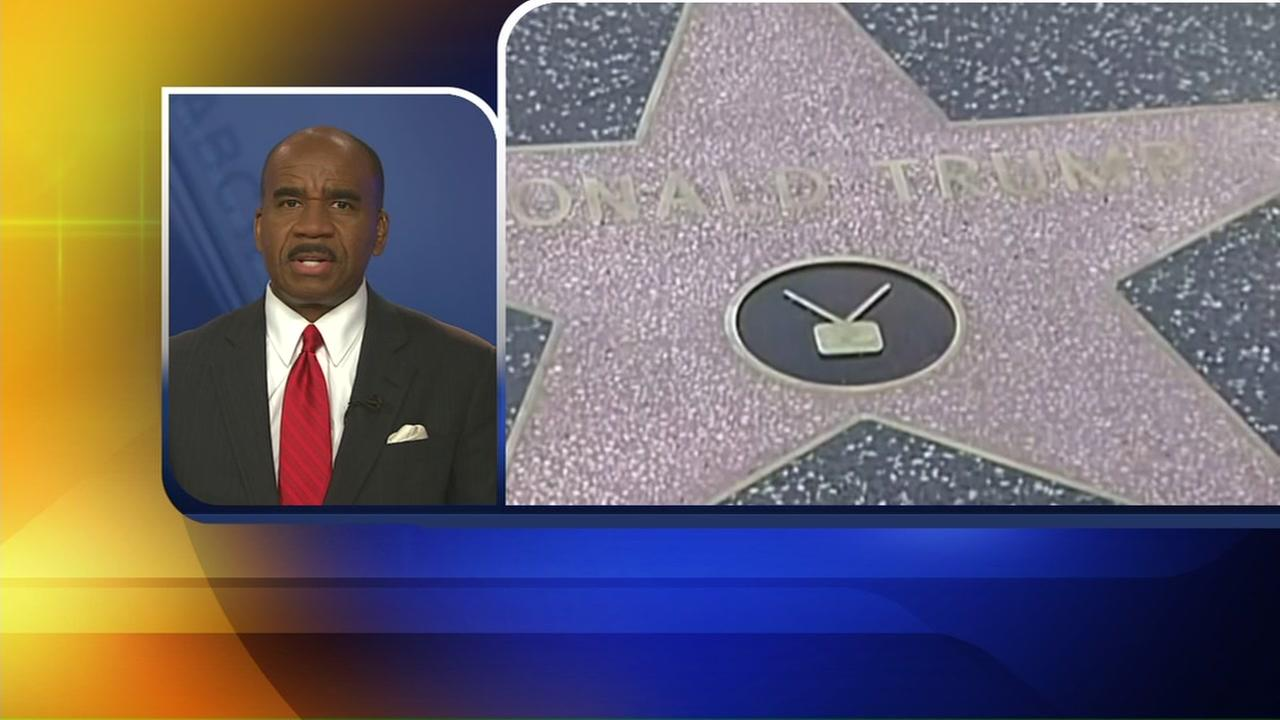 Council wants to remove Trump star from Hollywood Walk of Fame