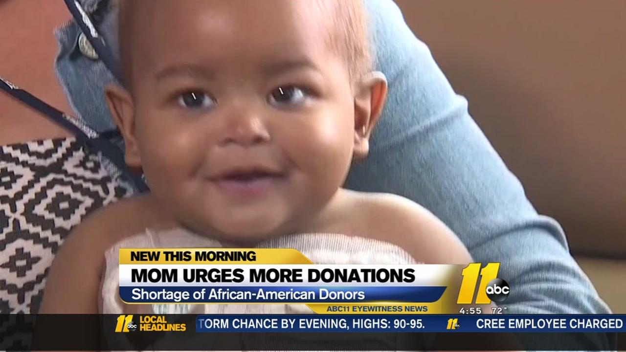 Baby diagnosed with leukemia; mom begs minorities to donate bone marrow