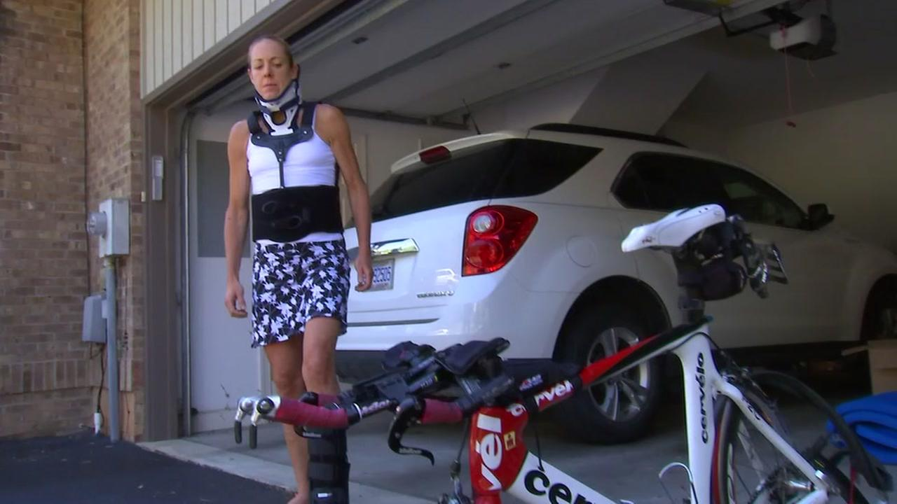 Triathlete lucky to be alive after being hit by car in Durham