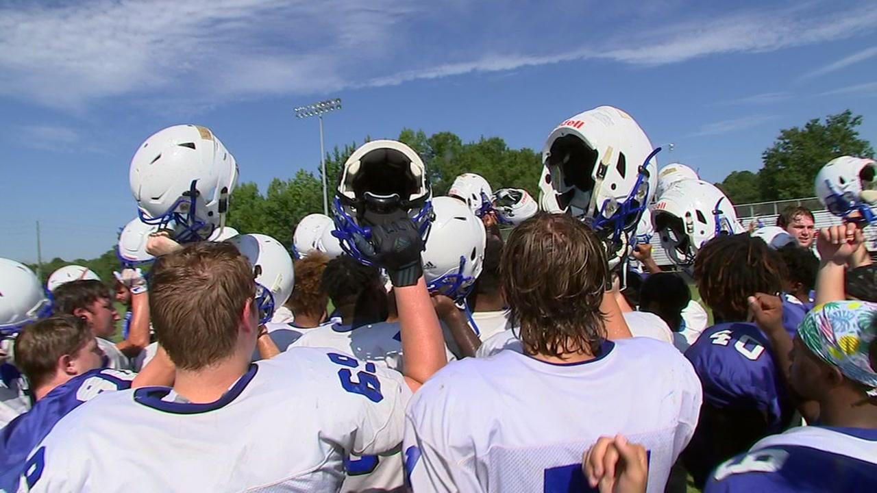 Clayton High School preps for football season