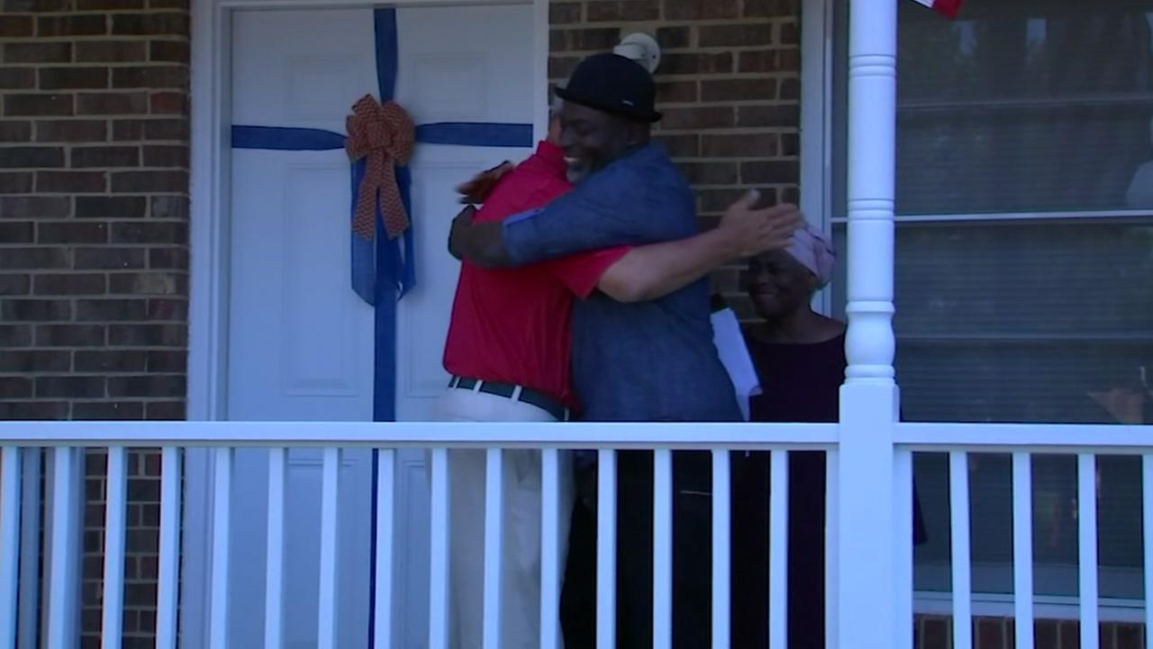 Marine veteran receives gift of a home