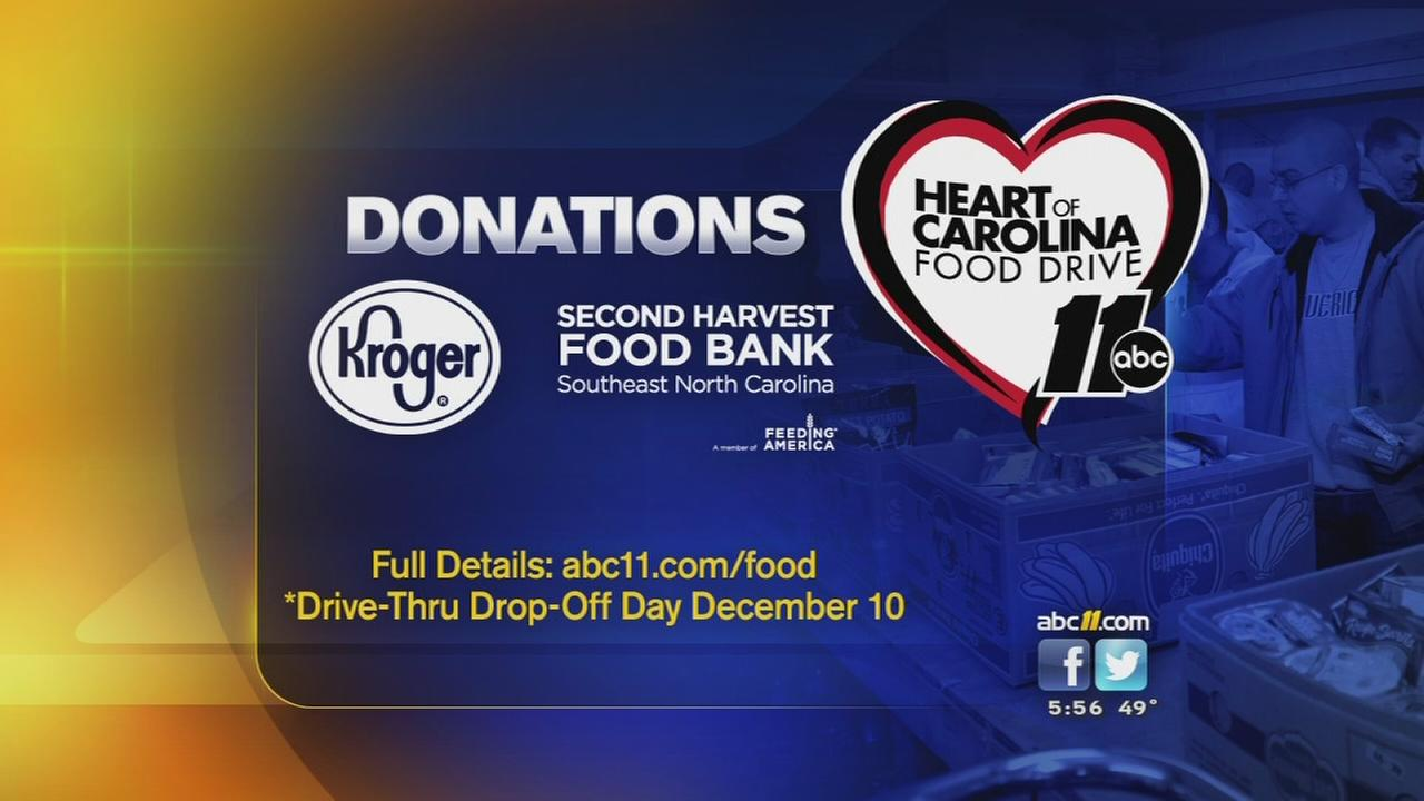 Giving Tuesday: Give back to the Heart of Carolina Food Drive