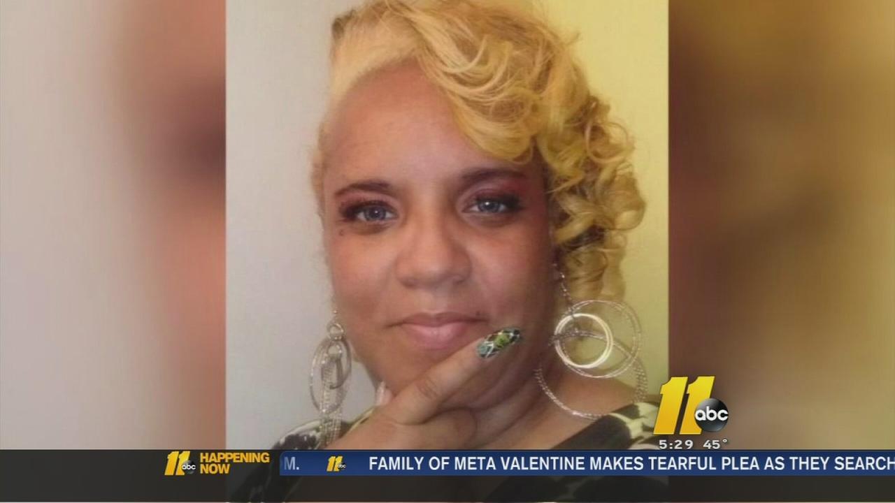 missing woman Meta Valentine