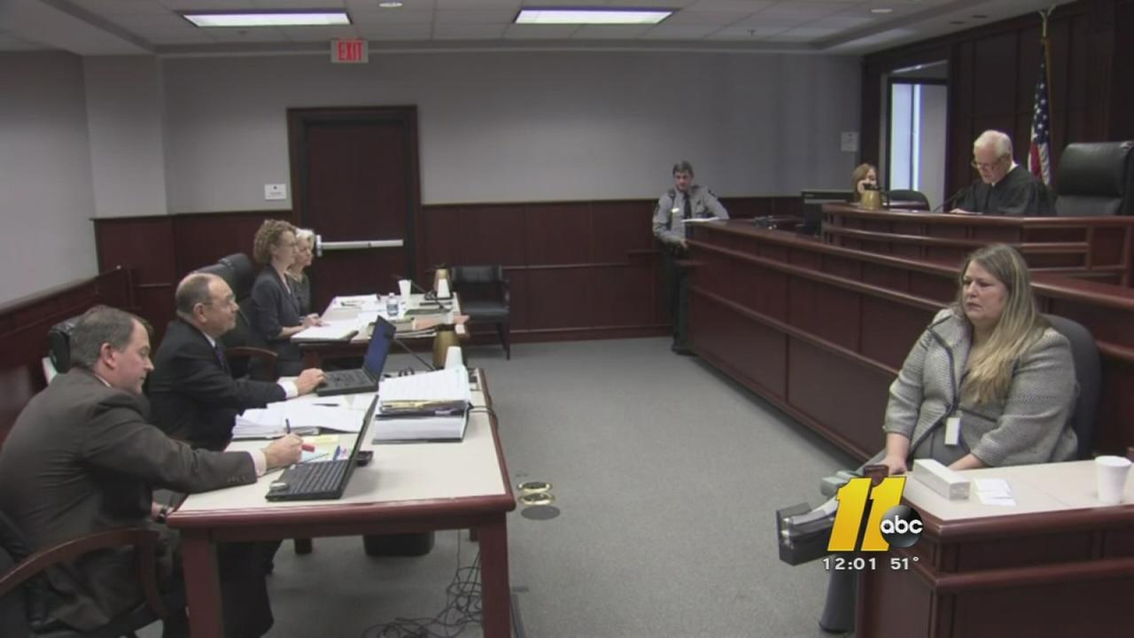 Superior Court Judge Donald Stephens listens to arguments
