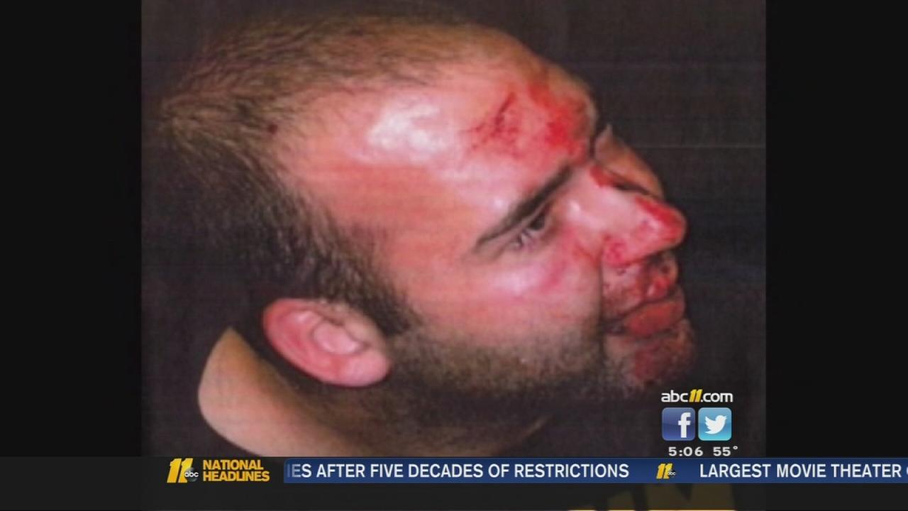 Tasered man fights back against police