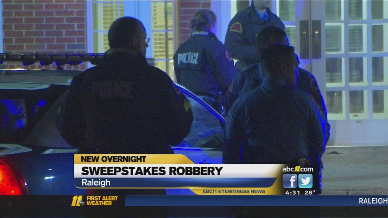 Raleigh sweepstacks parlor robbed