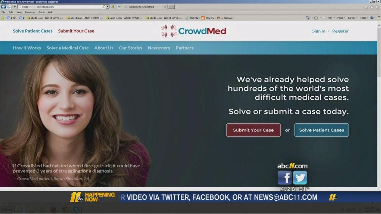 Website could help solve medical mysteries -- CrowdMed
