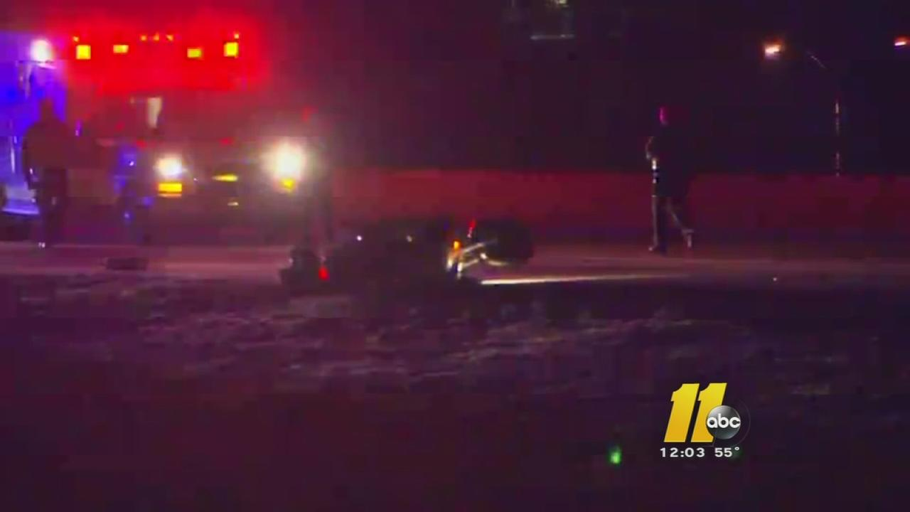 Woman charged after motorcyclist killed in Raleigh I-440 crash