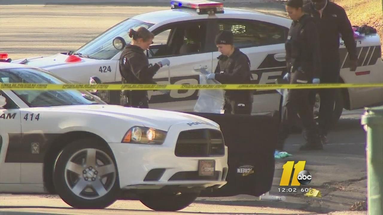 Body on Durham street near NCCU