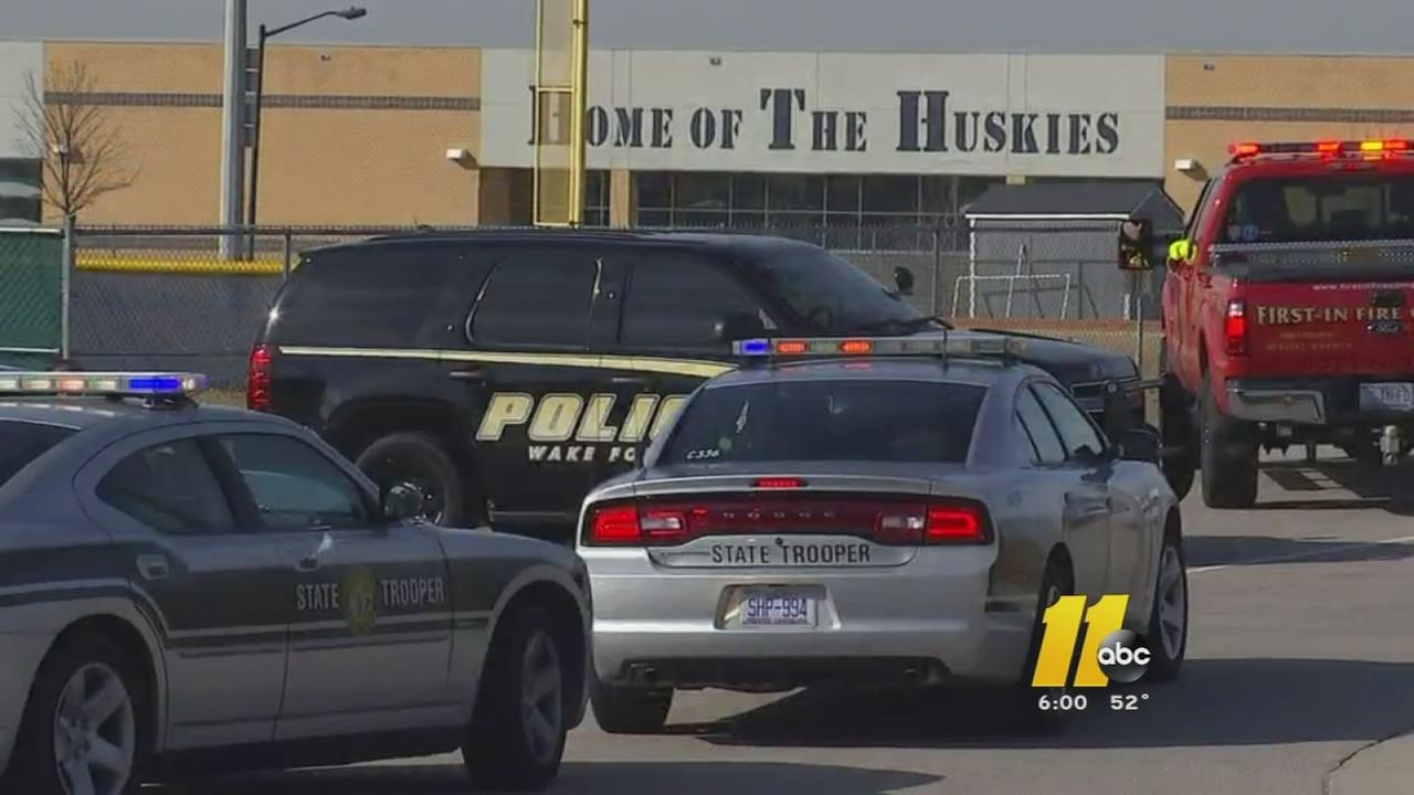 Heritage High School in Wake Forest put on lockdown after threat