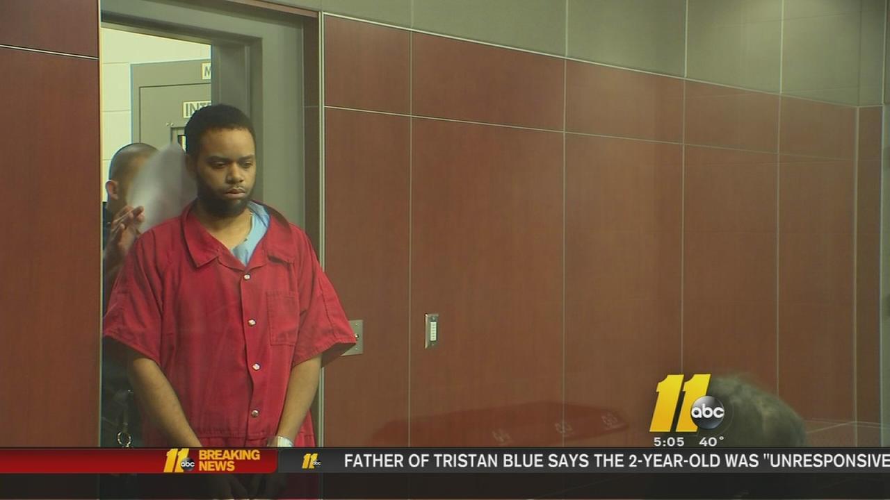 Steven Blue in court