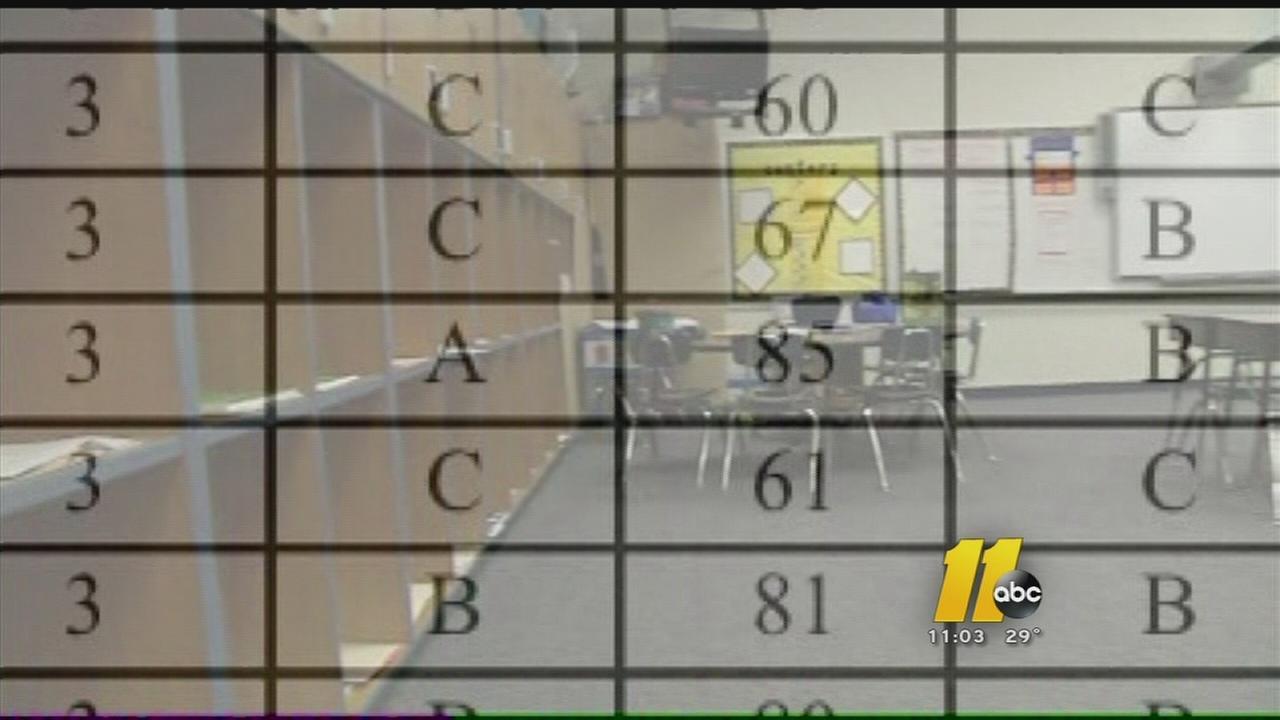 North Carolina education officials release grades for all public schools
