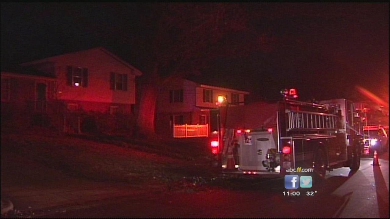 Raleigh house fire on Julian Drive