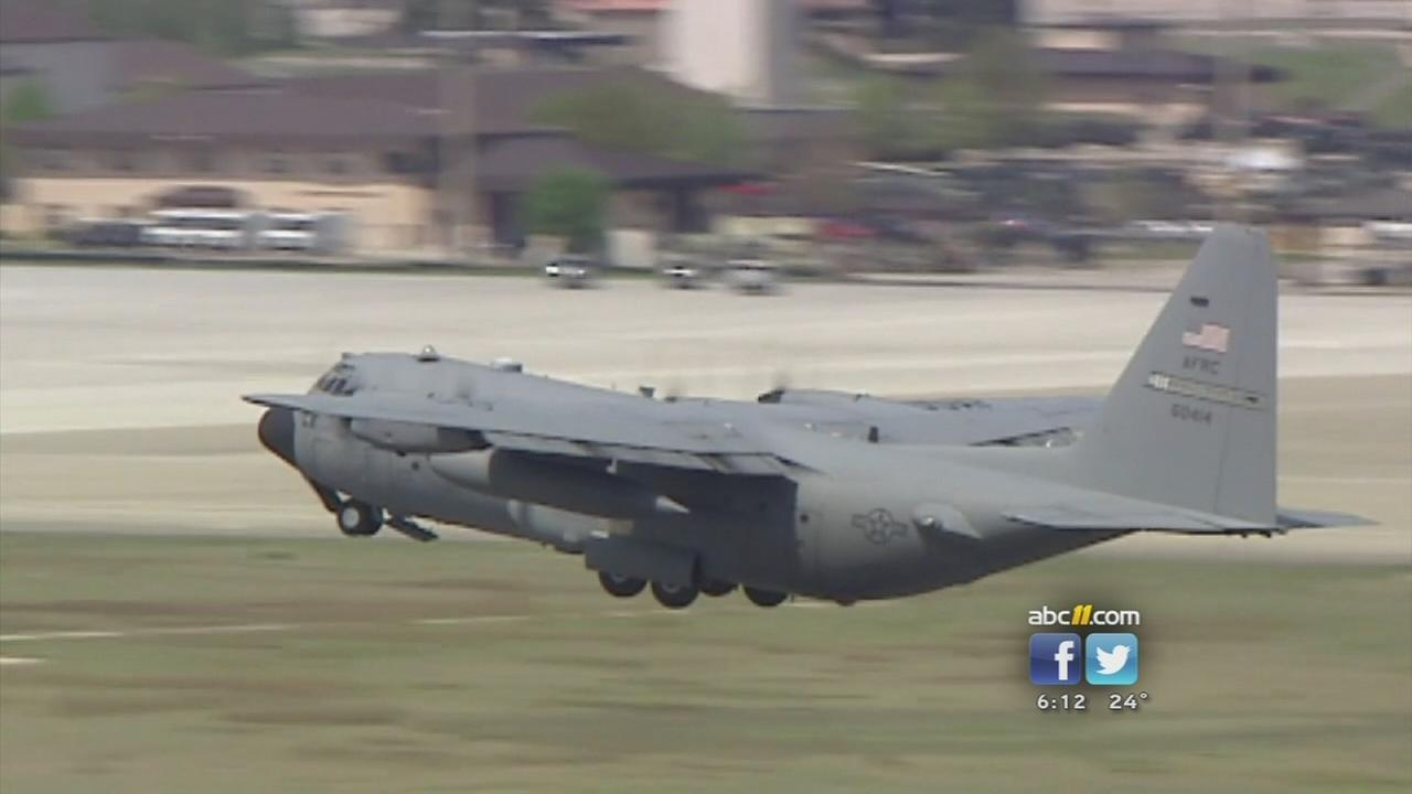 The C-130s have long been a common sight in the skies over Ft. Bragg and surrounding communities.