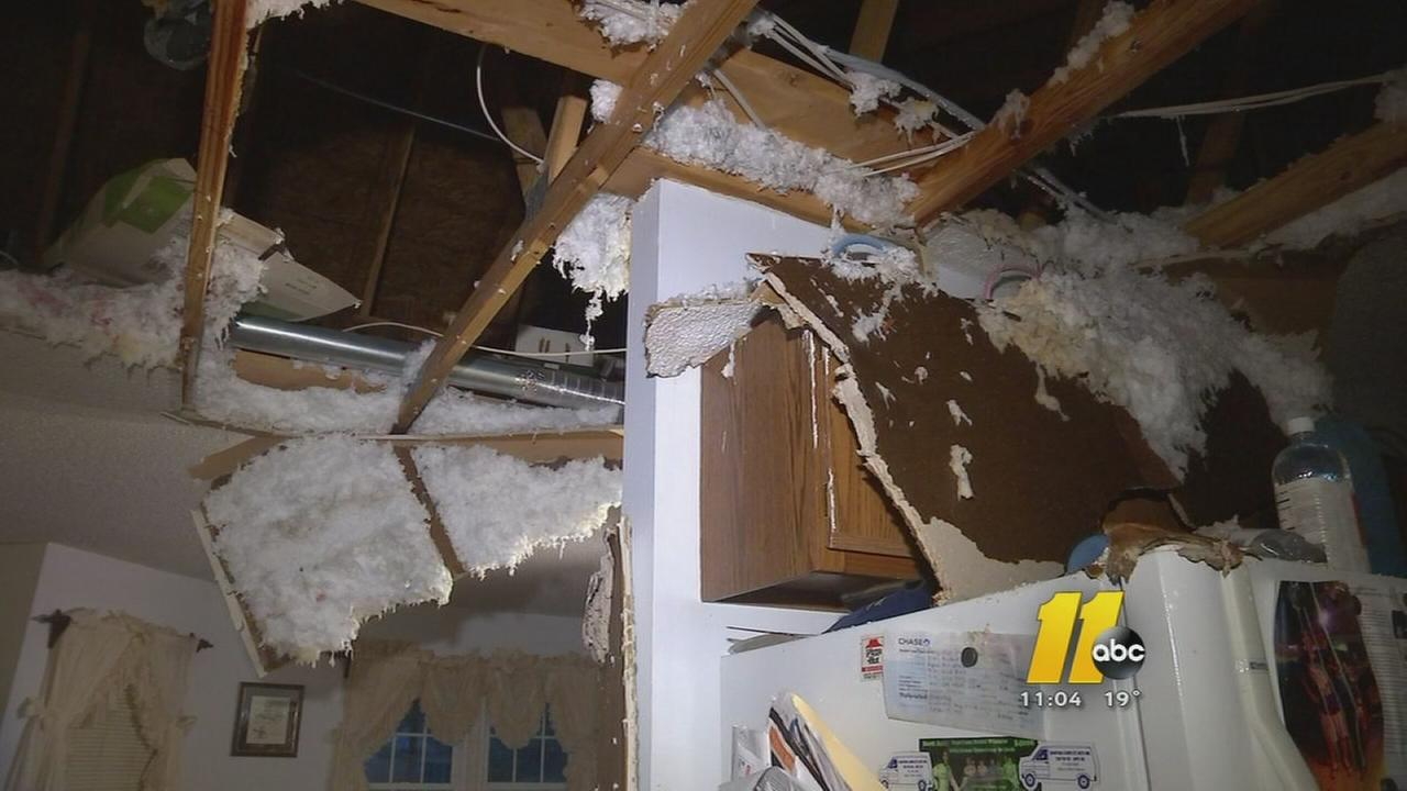 Deep freeze causes pipes to burst across Triangle