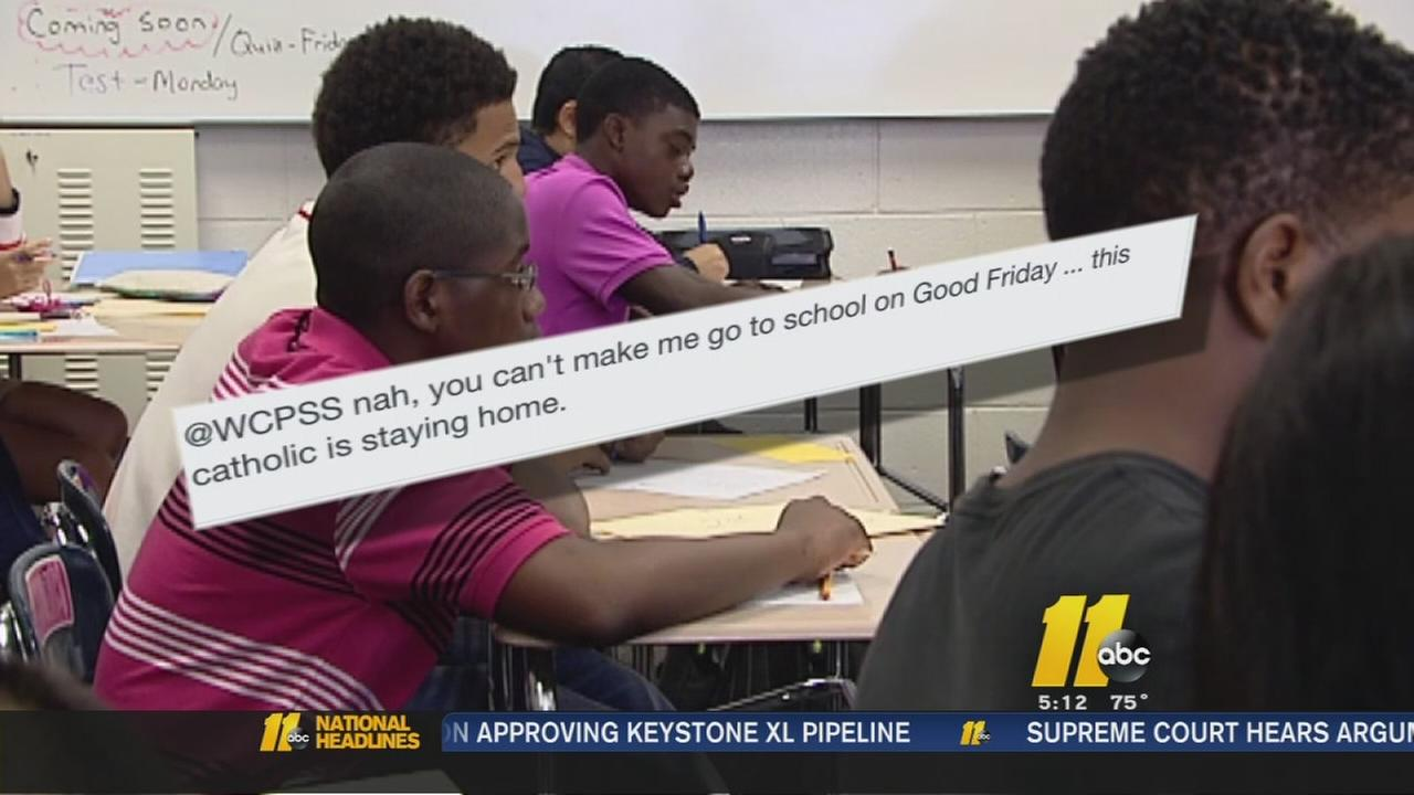 Snow make-up day plan draws fire from Wake County students, teachers