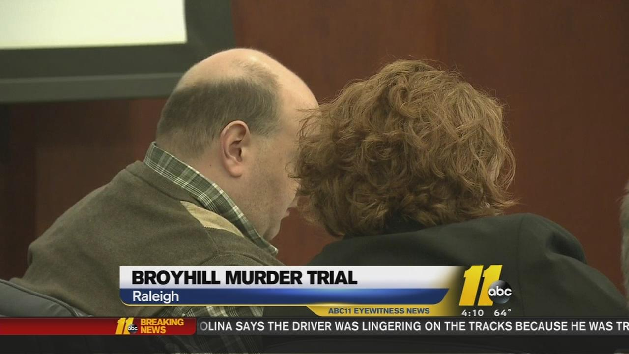 Broyhill trial Monday courtroom video