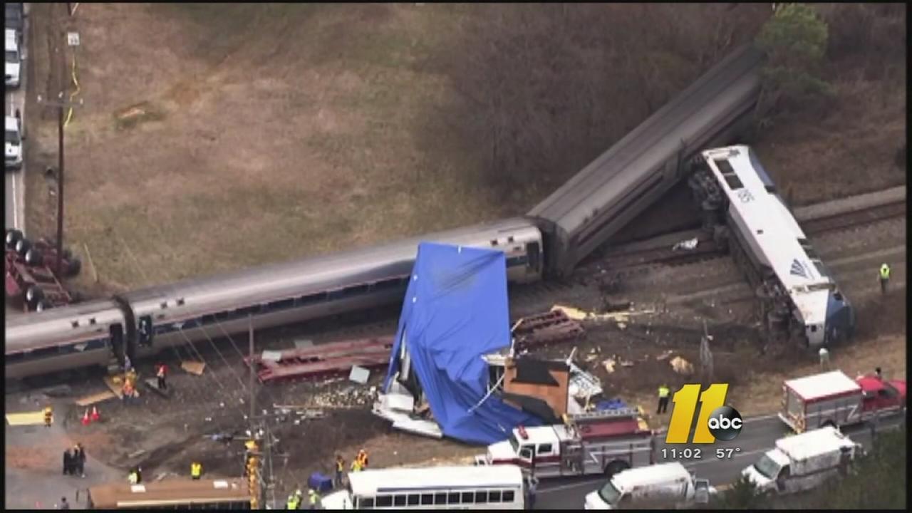 Amtrak train collides with truck in Halifax