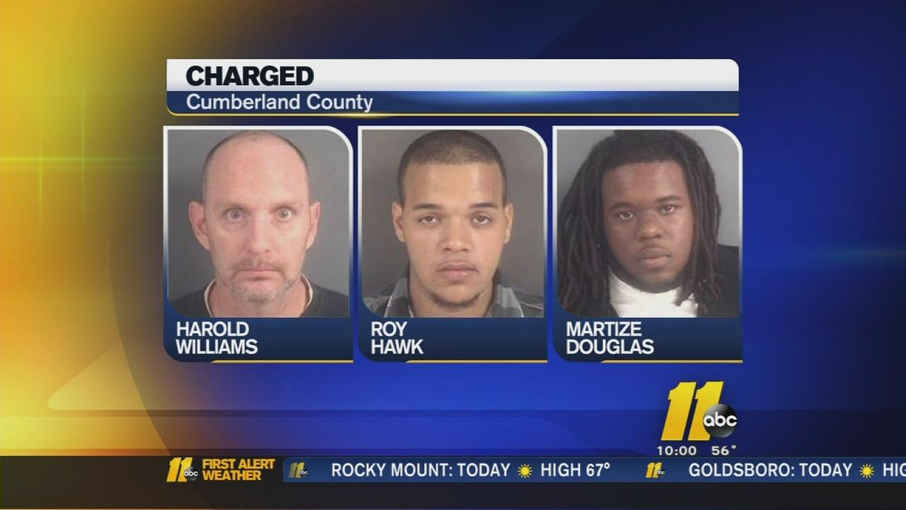 3 charged in home invasion shooting