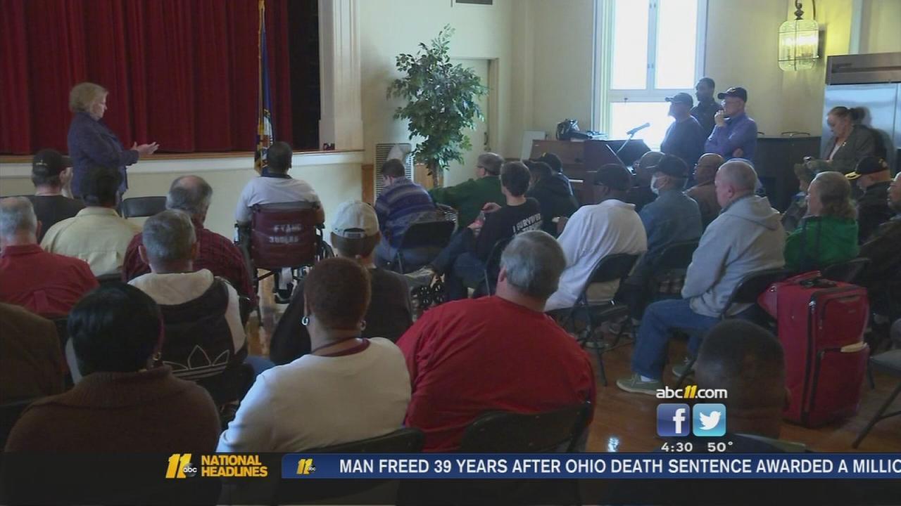 Veterans fire questions at VA leaders