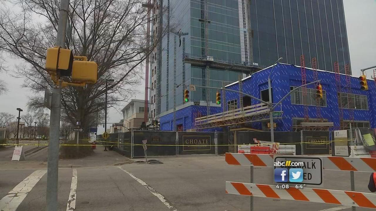 Scaffolding investigation continues in Raleigh