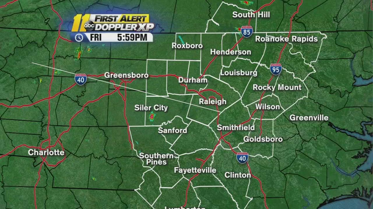 Chance of severe weather again today
