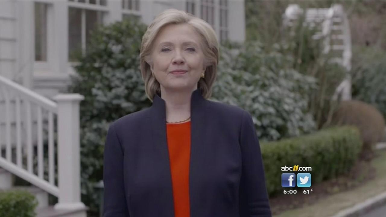 Clinton announces 2016 bid