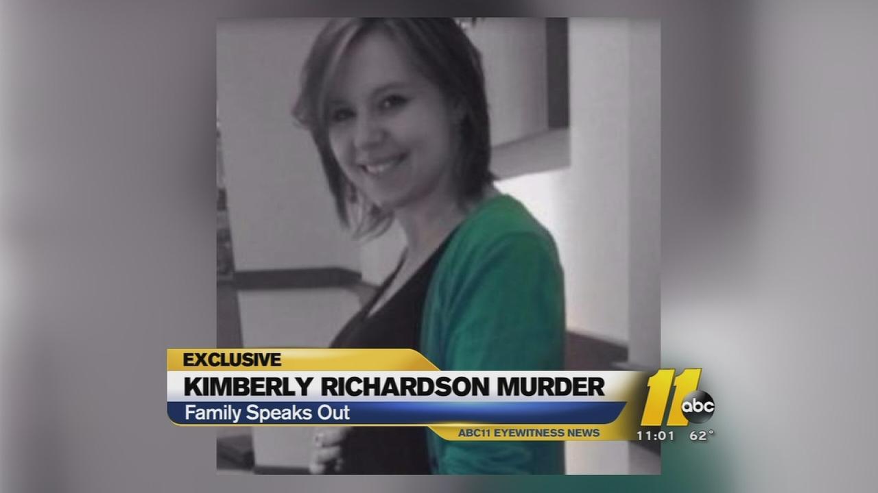 Family remembers slain pregnant woman -- Kimberly Richardson