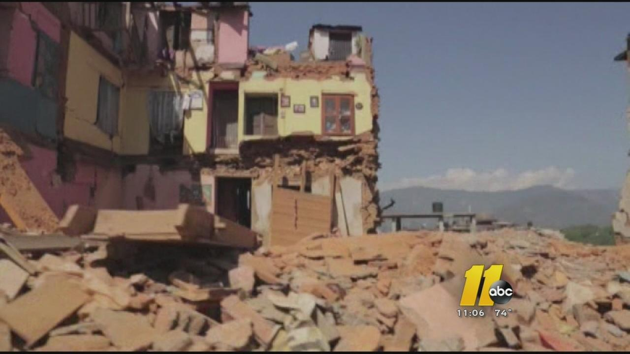 Local man in Nepal for 2nd Quake