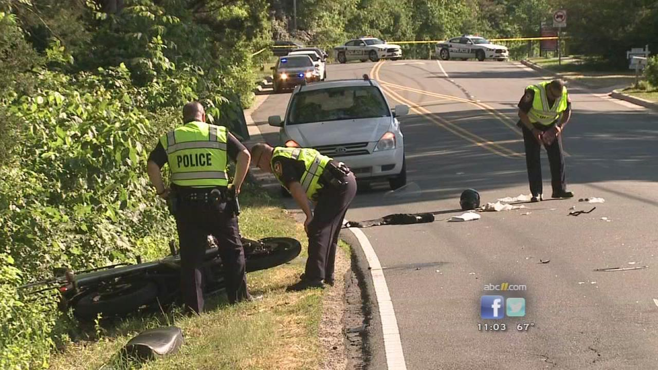 Motorcyclist seriously hurt after hit-and-run in Durham