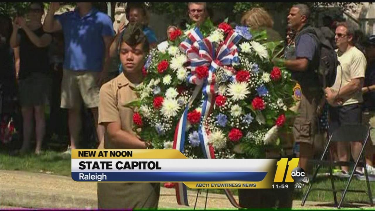 Triangle takes part in Memorial Day events