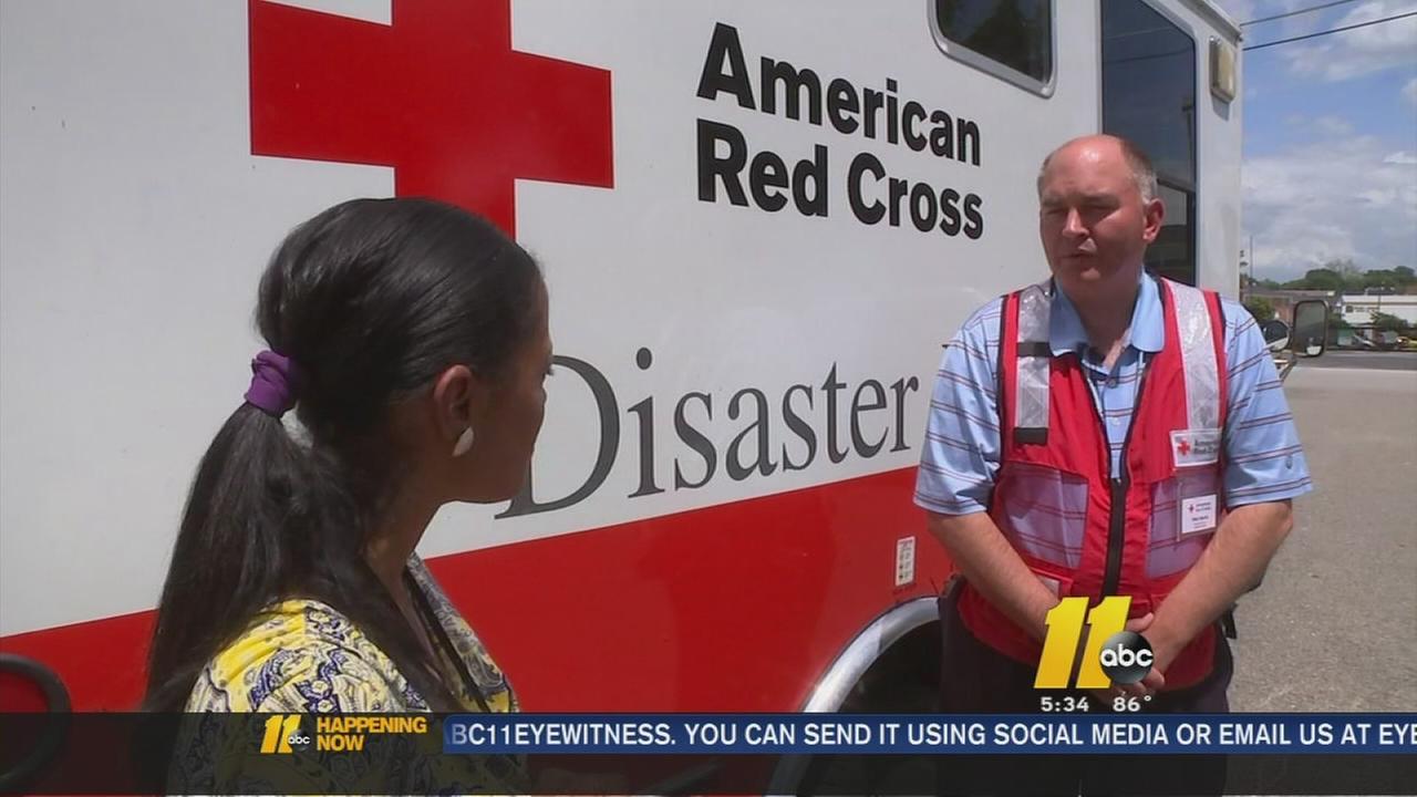 Sandhills, Triangle Red Cross volunteers head to Texas
