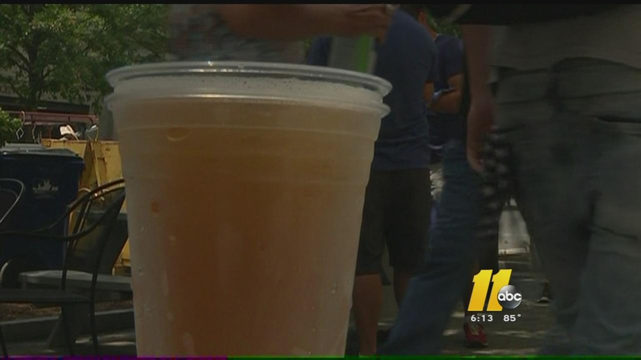 Controversy over outdoor drinking in Raleigh flares up again