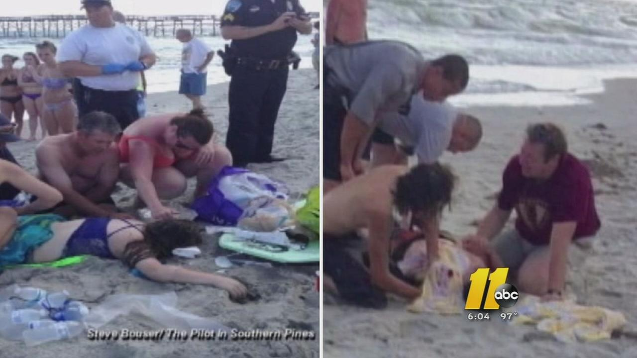 Two mauled in NC shark attacks