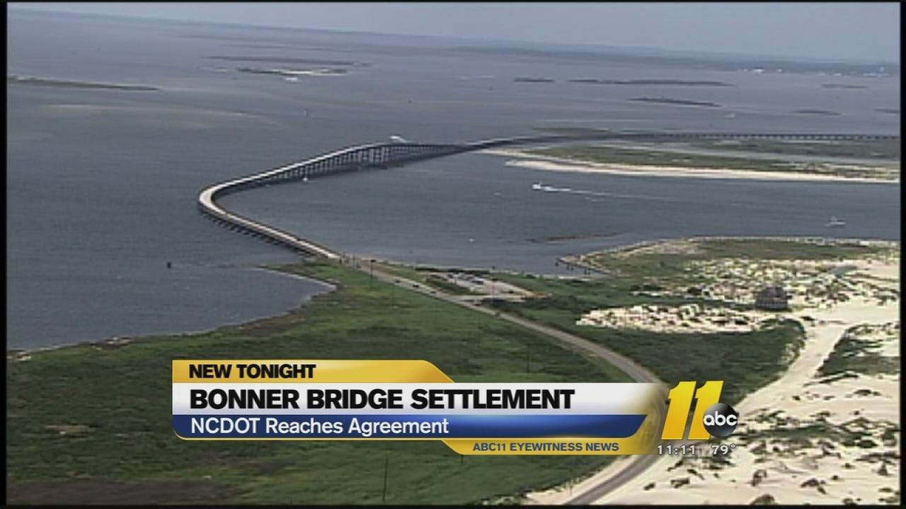 Bonner Bridge settlement